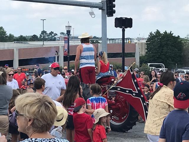 Cumming Confederate Flag
